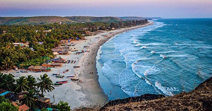 famous beaches of Goa