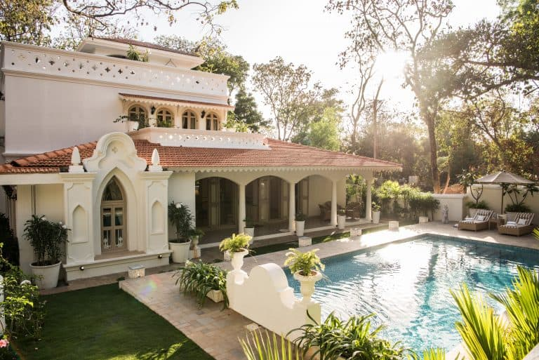 Luxurious and comfortable villas